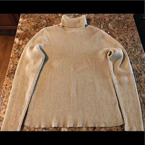 Sweaters - Ralph Lauren metallic turtle neck sweater P/M